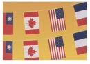 1號塑膠萬國串旗