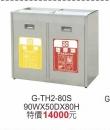 G-TH2-80S不銹鋼資源回收桶