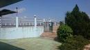 空中花園泳池施工。