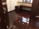內湖區 木作地板 刷雙液型百分百亮光透明面漆