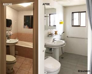 居家無障礙浴室翻修
