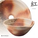 紅KURENAI 手工陶盆 HW1023-001-200