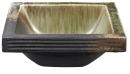 翠綠SUIRYOKU 手工陶盆 HW20231-023-170