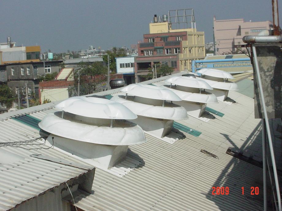 通風設備,雙頂強力排風扇施工