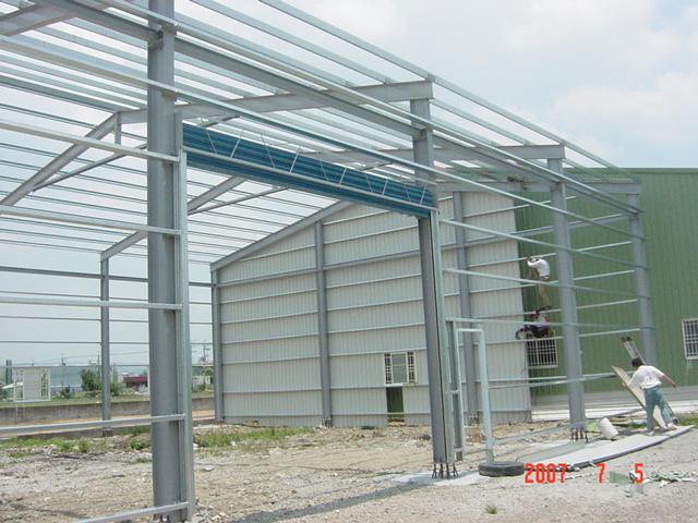 H型鋼,鋼構廠房,規劃施工