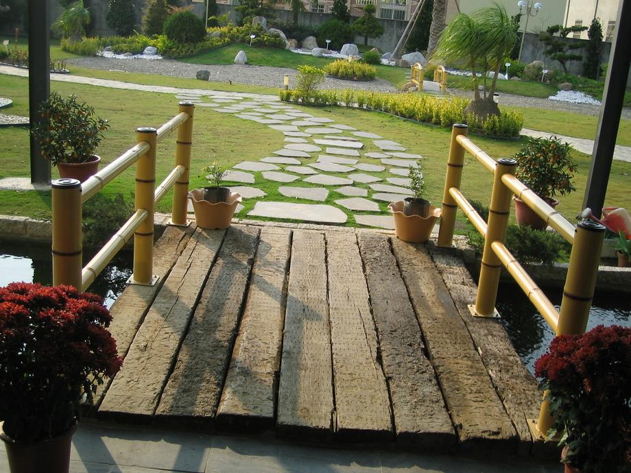仿竹欄杆,景觀工程,景觀圍籬