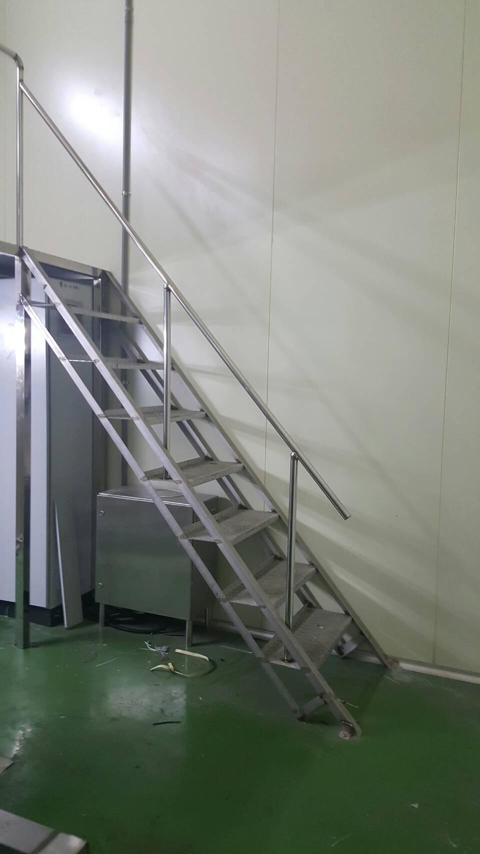 不銹鋼花板梯