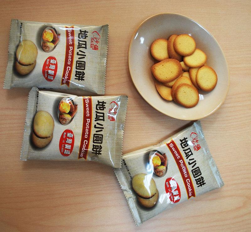 臺旺 - 地瓜小圓餅 (30公克 x 100包 / 散裝)