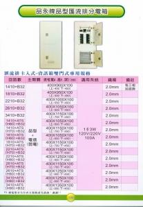 品永牌品型匯流排分電箱 (2)