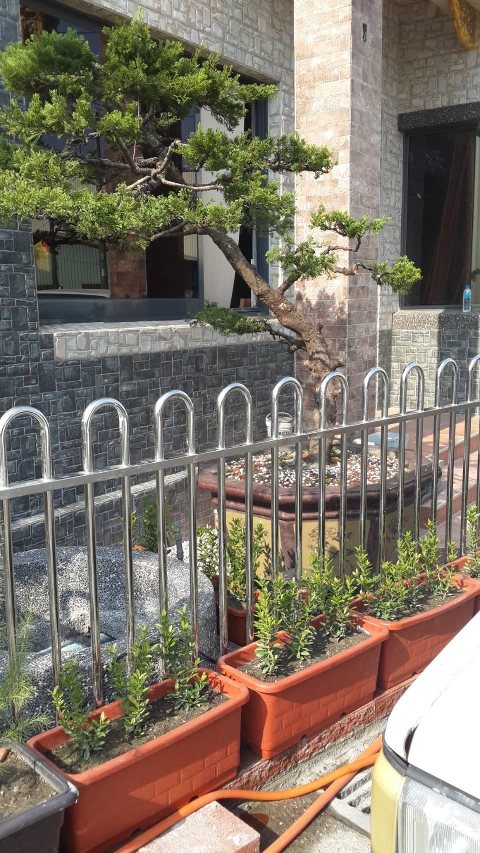 不銹鋼圍牆欄杆