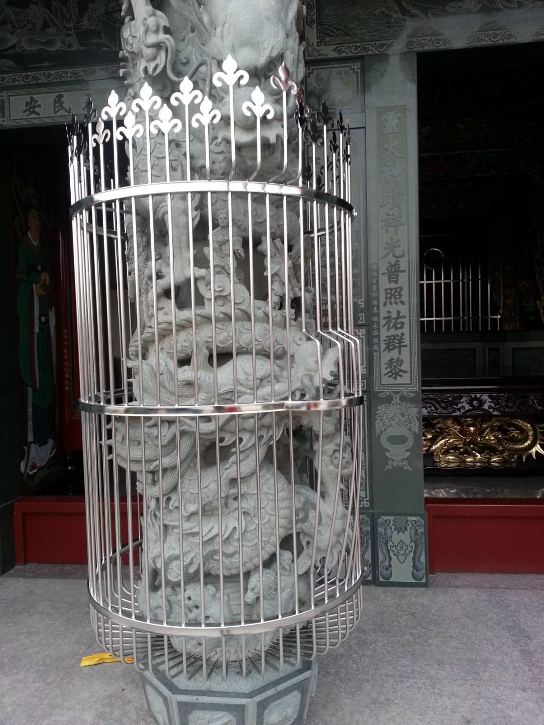 不銹鋼廟雕飾護欄