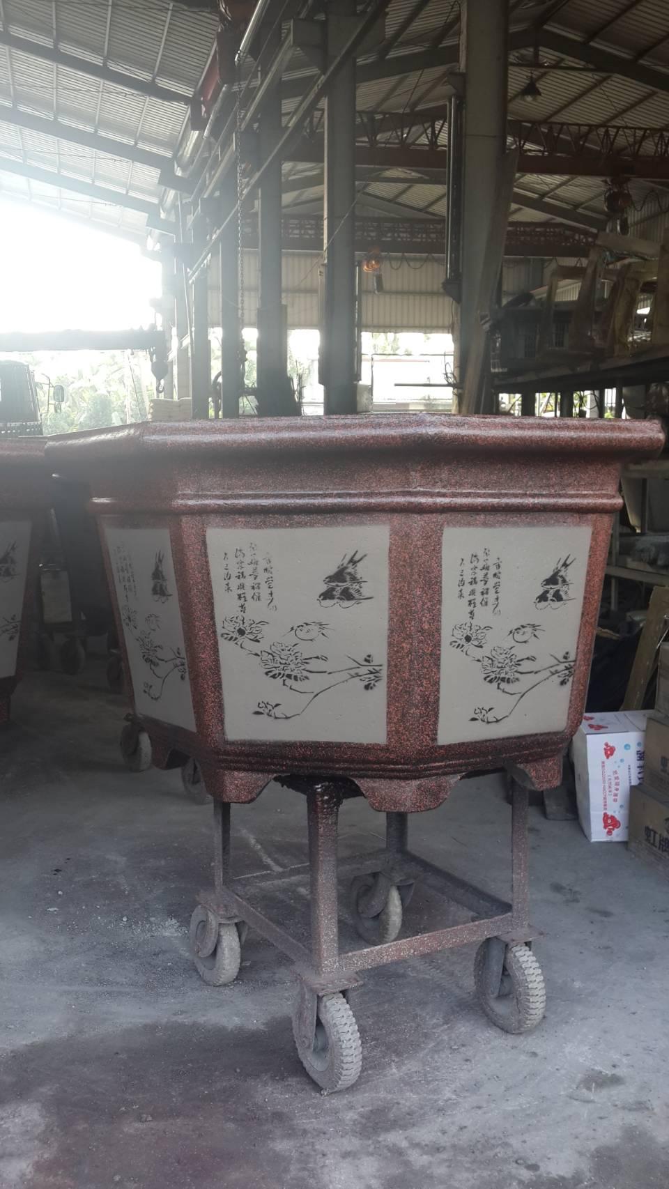 水泥花盆 (3)