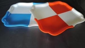彩色波浪盤1