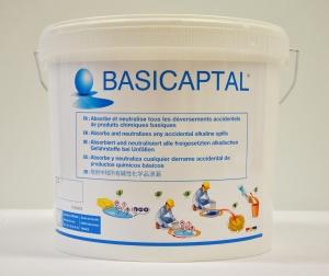 鹼性化學品吸附中和固化劑  Basicaptal 9kg