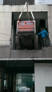 吊山貓打金庫拆除工程