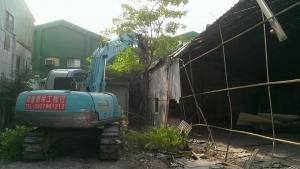 安平工業區拆除工程