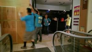 嘉義新光三越百貨公司專櫃木作裝潢拆除