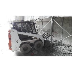 高雄航空站施工碎石清運