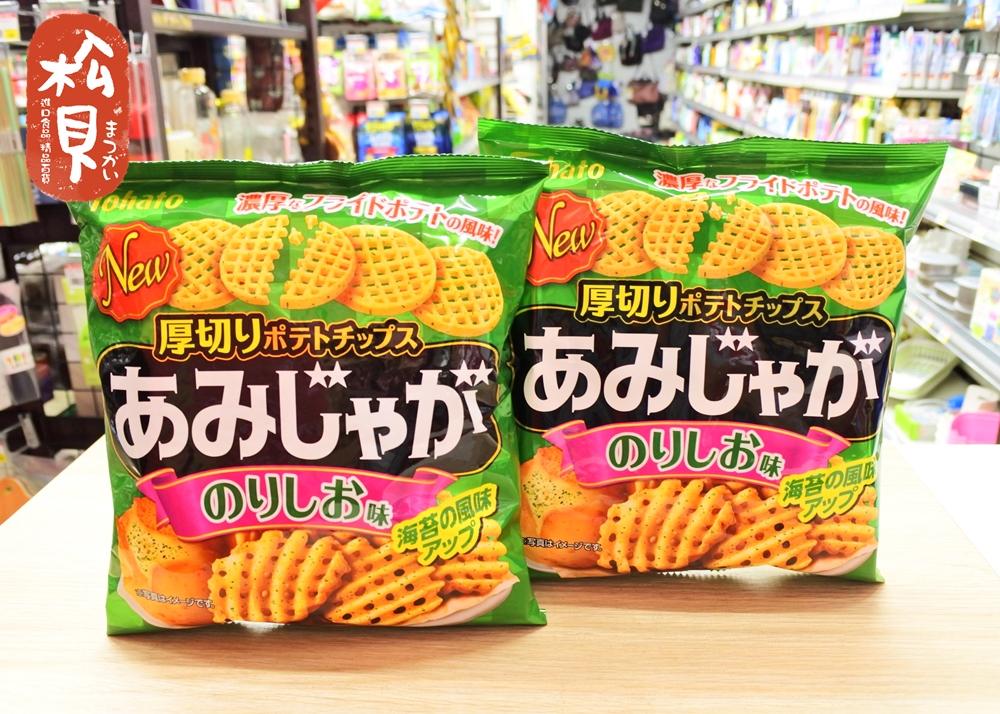 東鳩網狀洋芋片(海苔味)60g.JPG