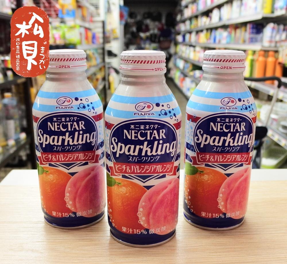不二家香橙蜜桃汁380ml.JPG