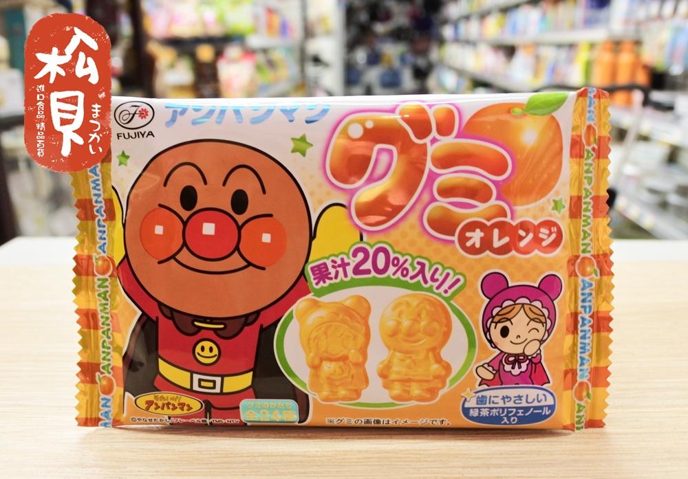 不二家麵包超人軟糖(橘子)19g.JPG