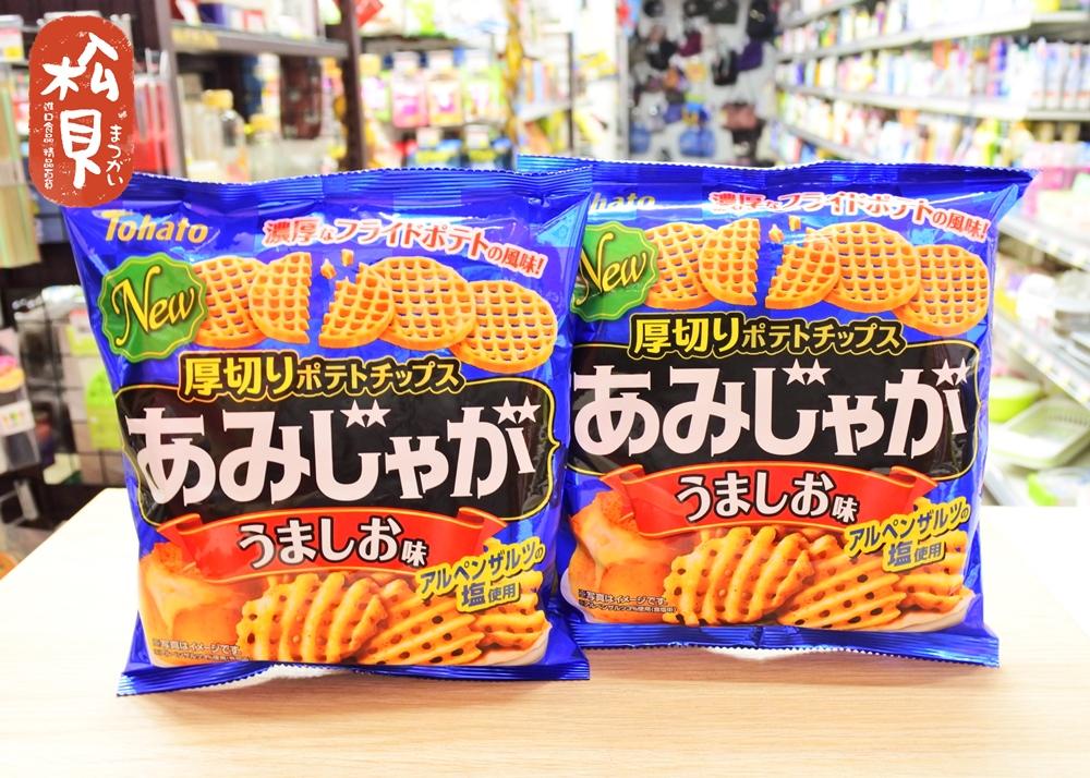 東鳩網狀洋芋片(鹽味)60g.JPG