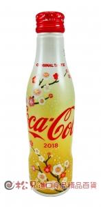 可口可樂曲線瓶(新年版)250ml【4902102114547】