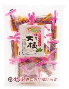 水溜梅汁蘿蔔乾120g【4978288814670】
