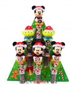 Heart迪士尼聖誕巧克力搖搖鈴74g【4977629626514】