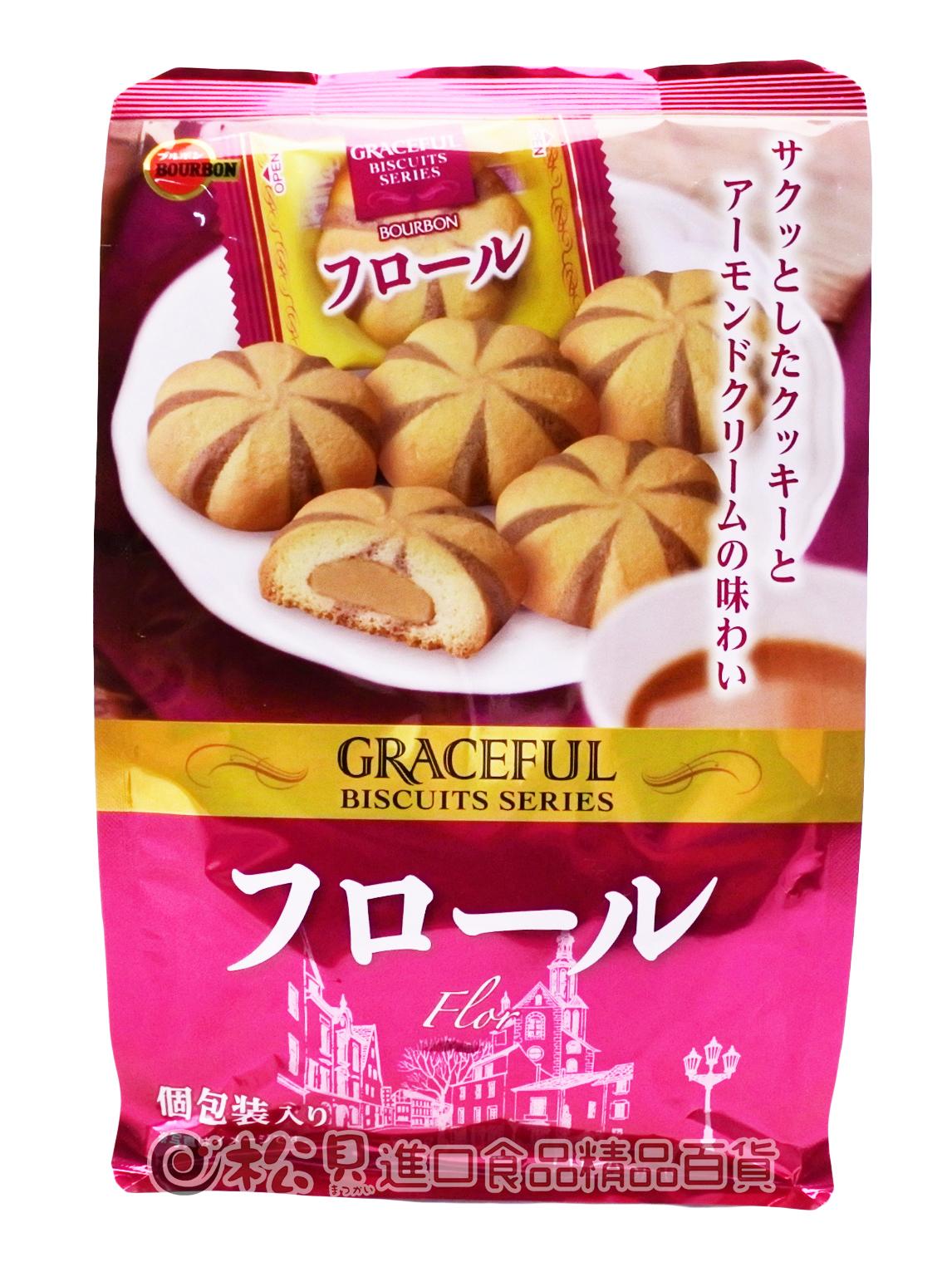 北日本花形杏仁奶油餅91g【4901360328963】