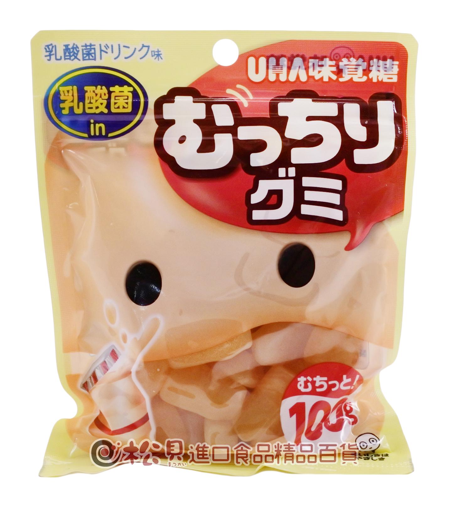 味覺乳酸飲料軟糖100g【4902750682382】