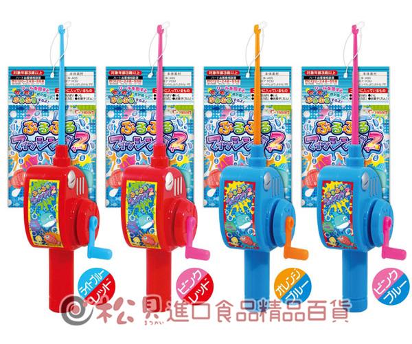 Heart日本釣魚玩具糖果4g【4977629242394】
