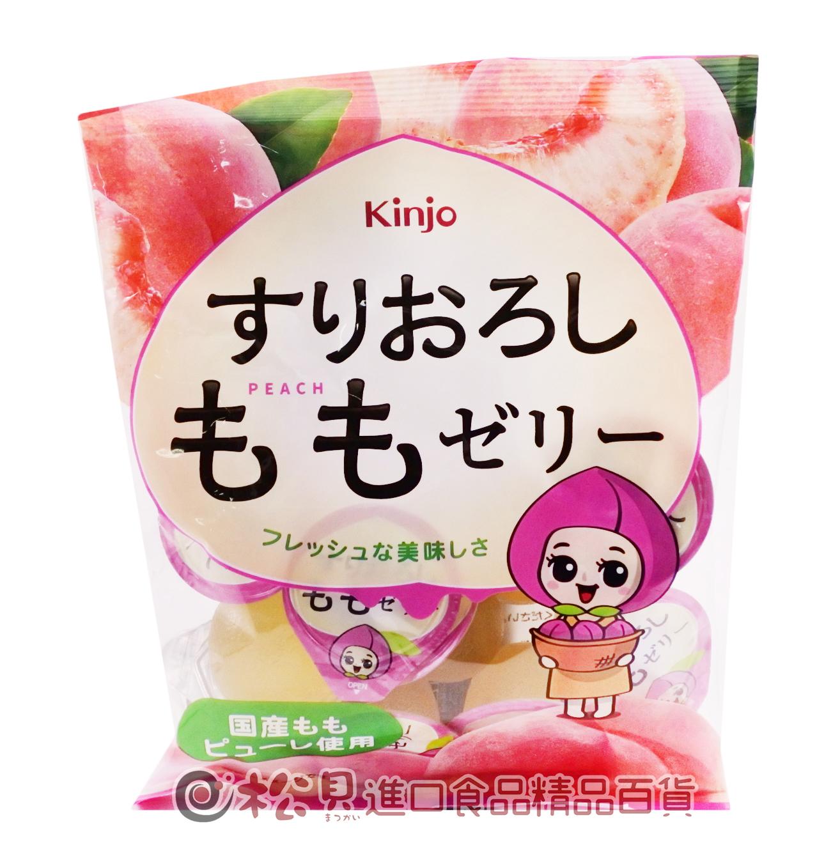 金城水蜜桃果凍160g【4901324013621】