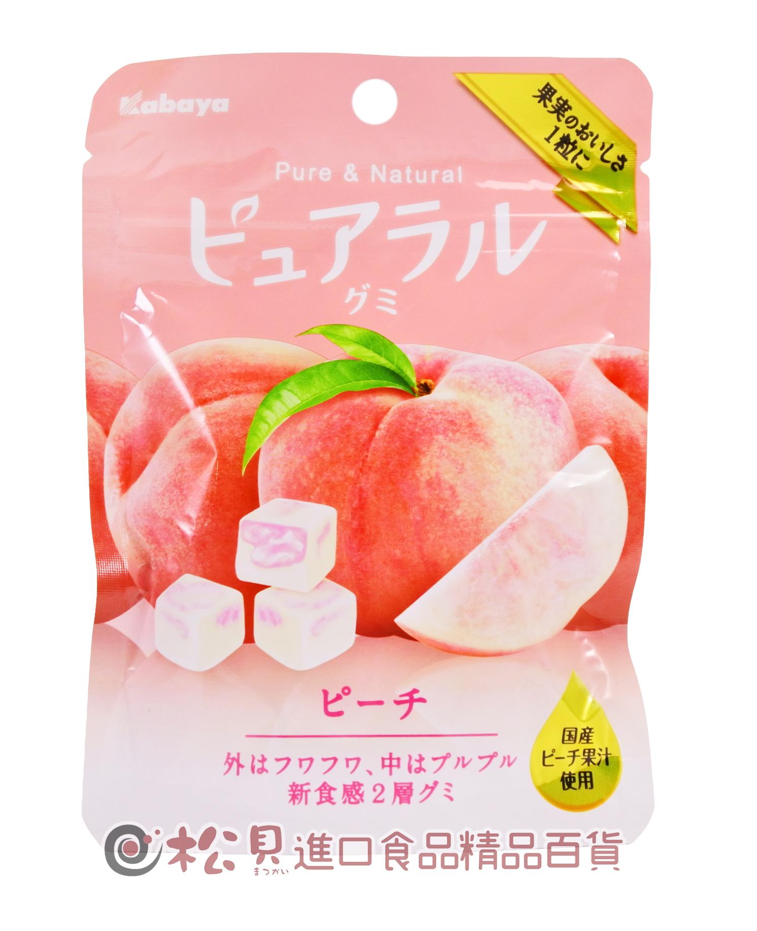 卡巴水蜜桃方塊軟糖45g【4901550268758】