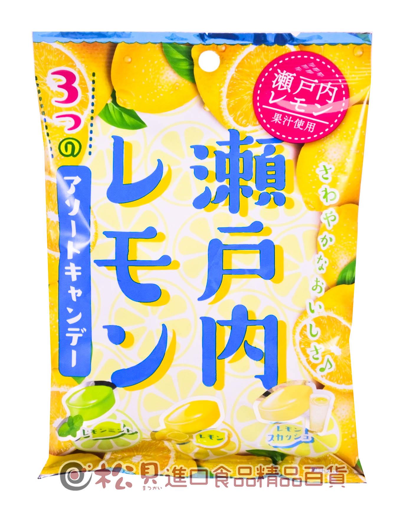 扇雀飴瀨戶內檸檬果汁糖70g【4901650292462】
