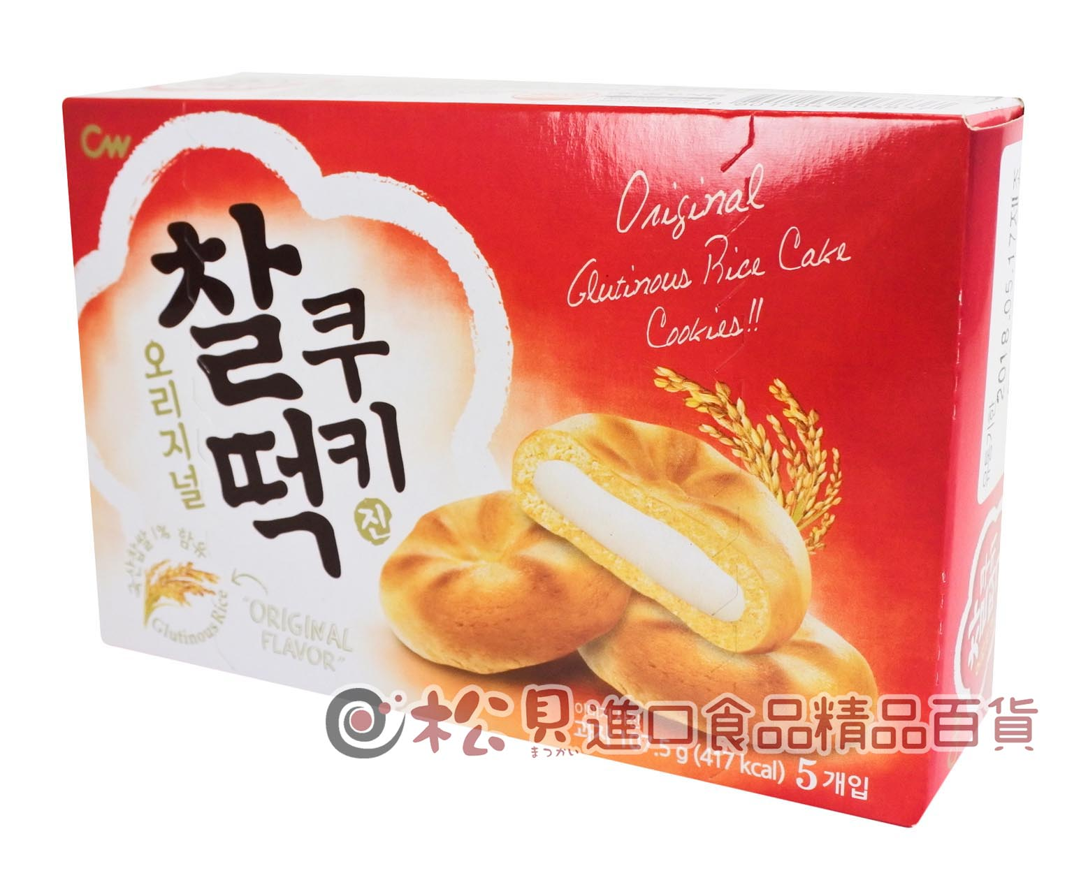 韓國CW年糕餅107g【8801204203837】