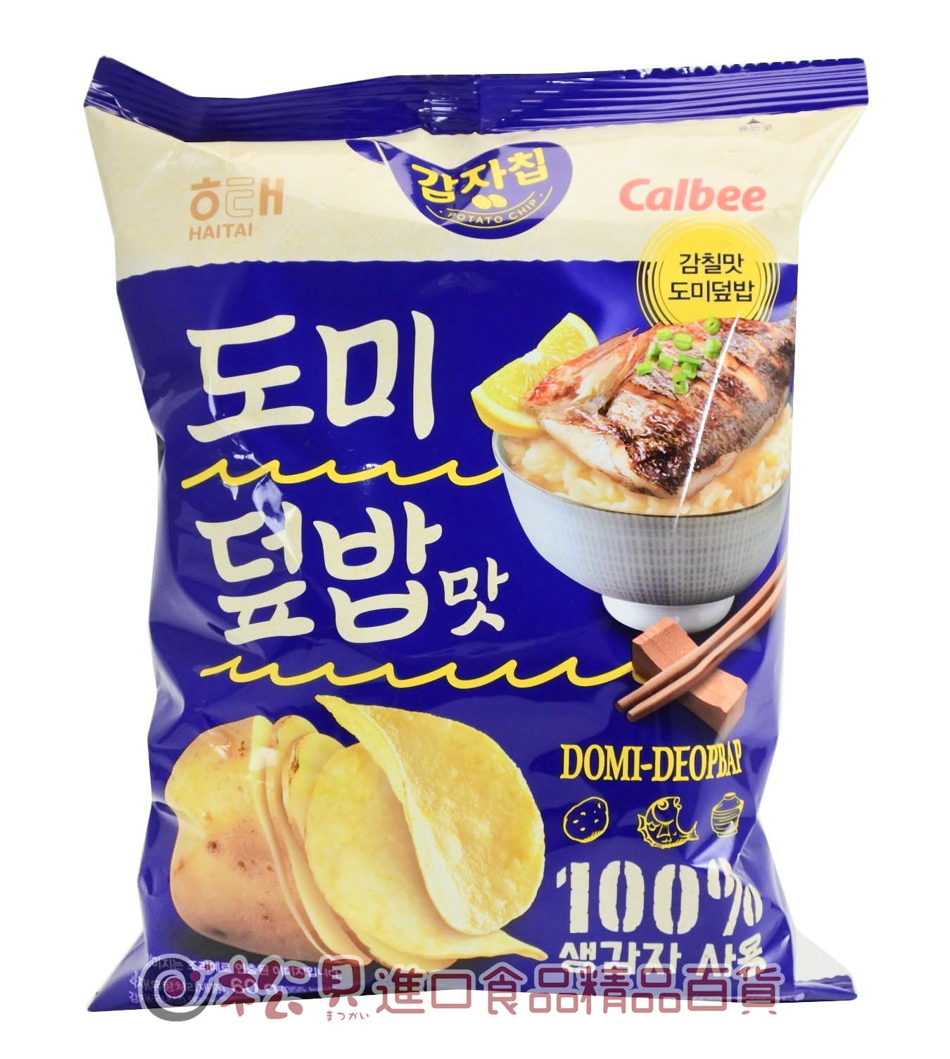 海太雕魚蓋飯洋芋片60g【8801019608803】