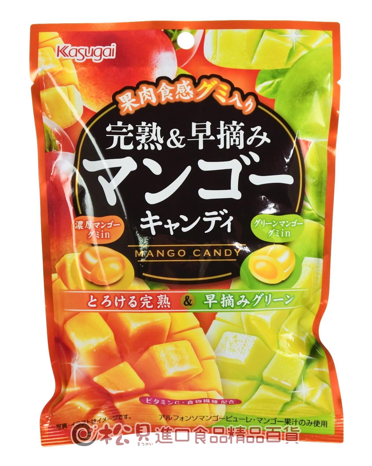春日井完熟芒果糖88g【4901326034808】