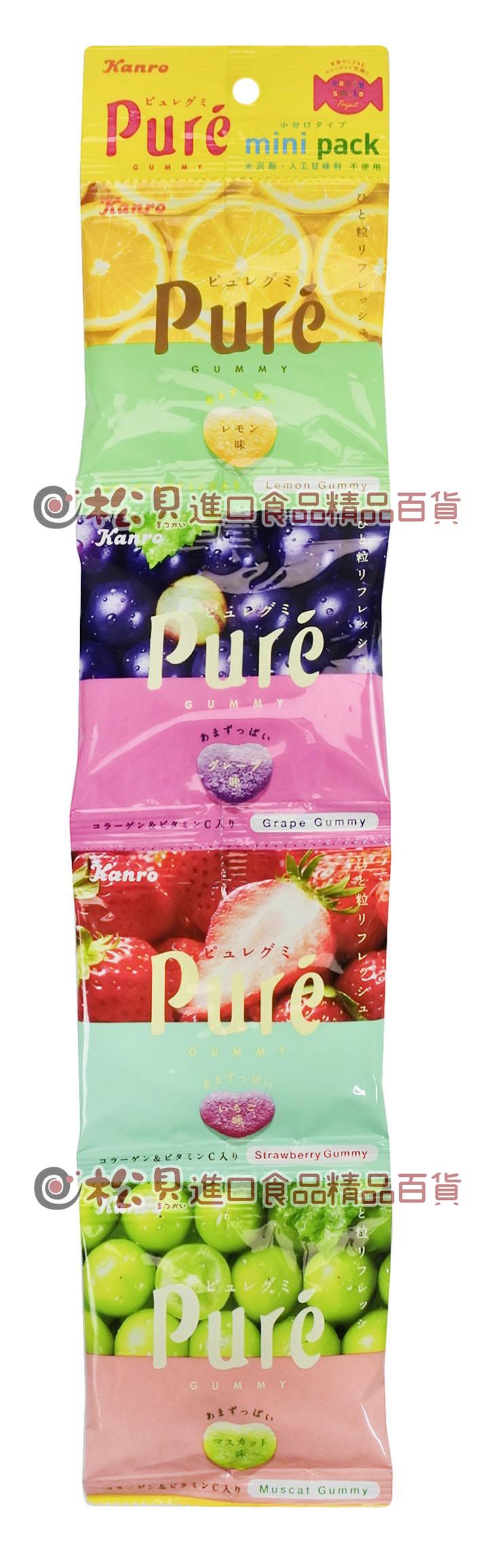 甘樂綜合水果軟糖4連80g【4901351059050】