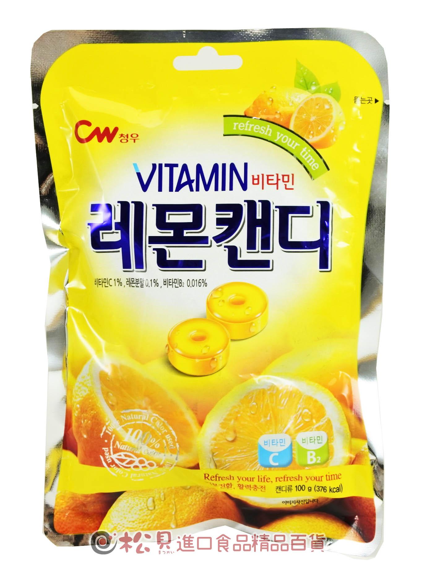 CW檸檬糖100g【8801204307108】