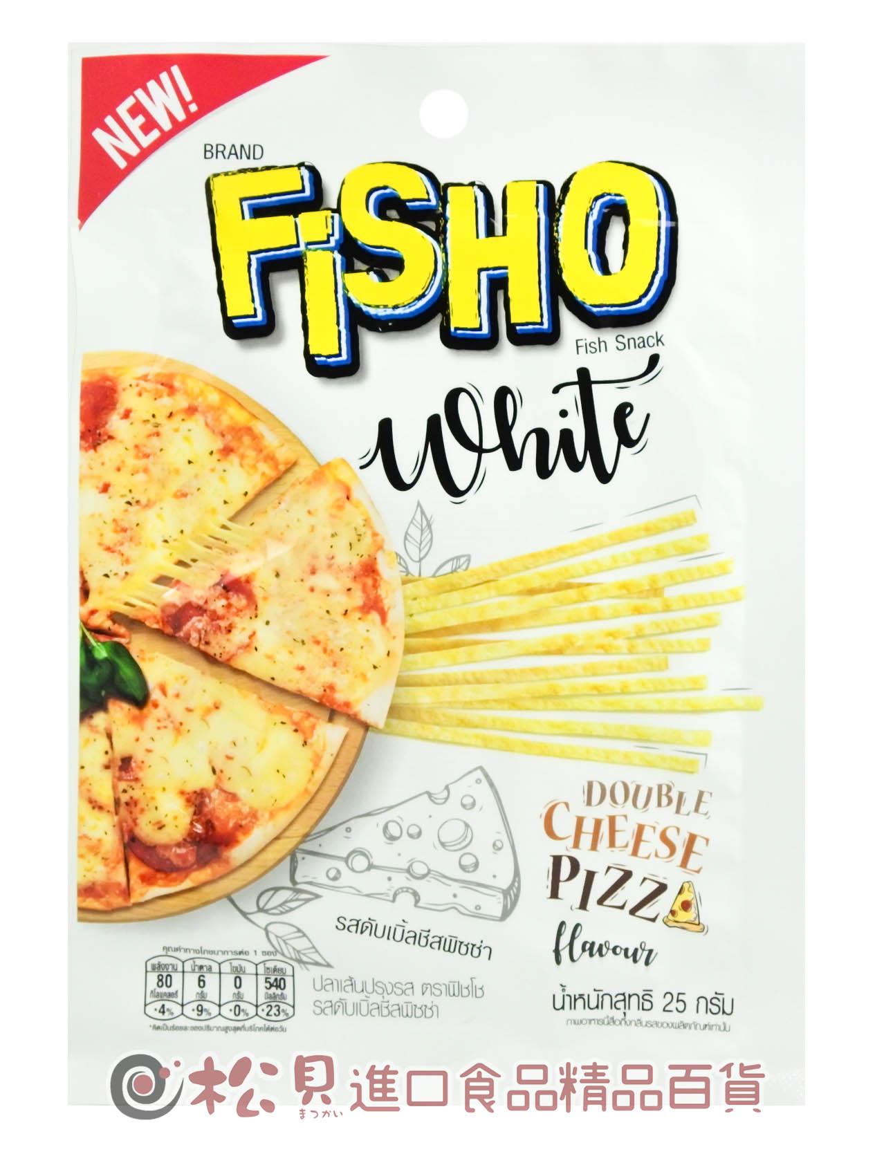 泰國FISO鱈魚香絲(雙層起司比薩)25g【8850468250149】