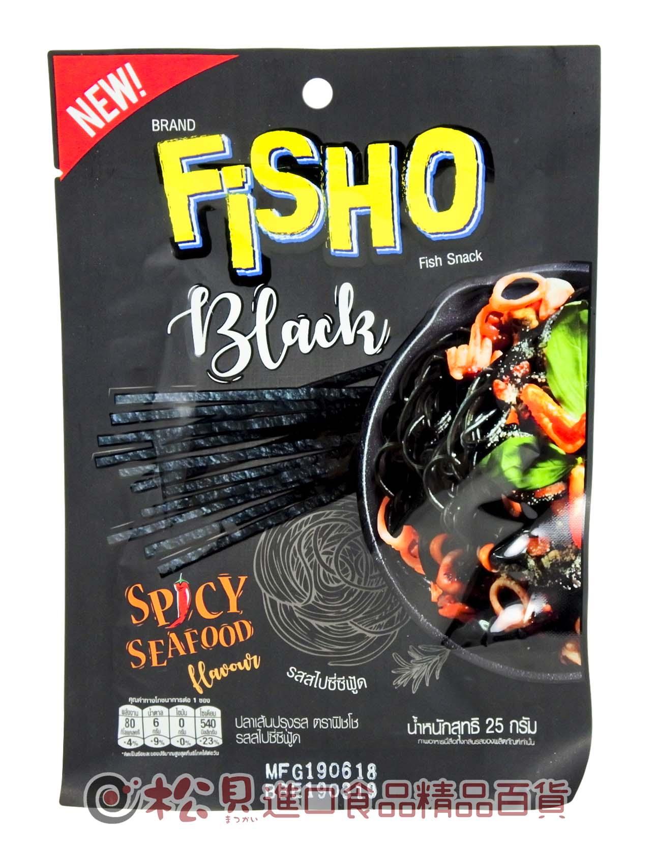泰國FISO鱈魚香絲(香辣海鮮)25g【8850468250125】