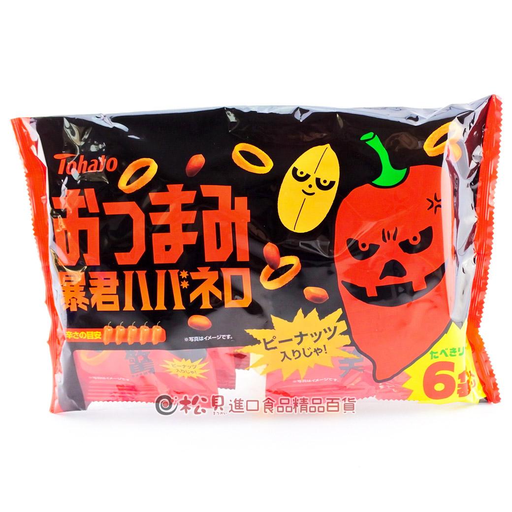 東鳩暴君辣味洋芋圈6袋72g【4901940039371】