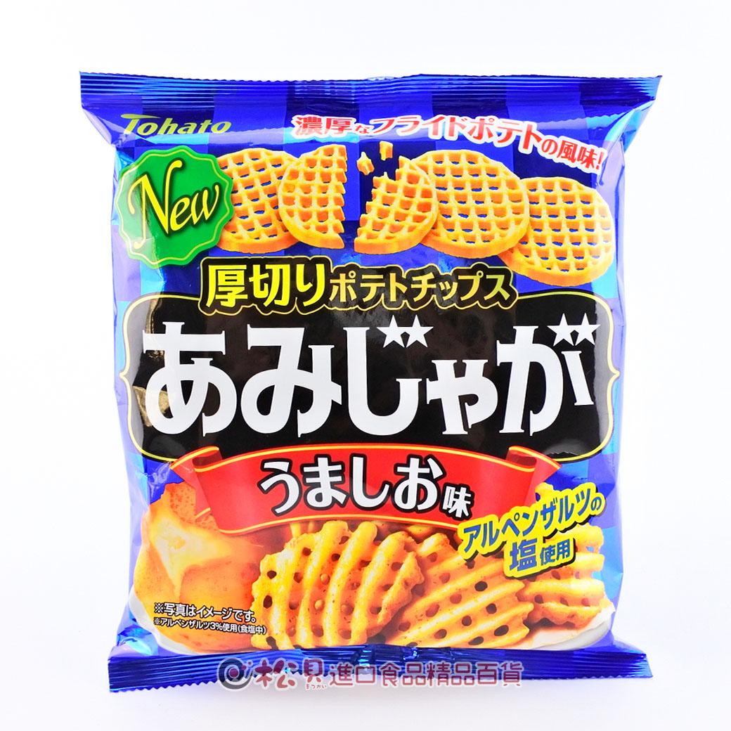 東鳩網狀洋芋片(鹽味)60g【4901940039333】