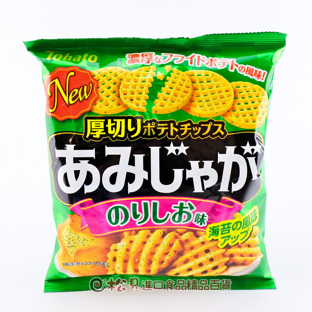 東鳩網狀洋芋片(海苔味)60g【4901940039357】