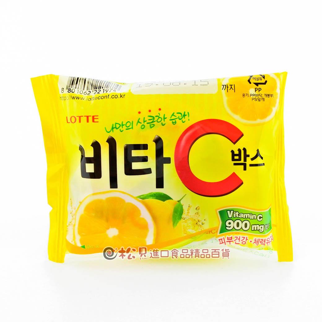 韓國樂天VC檸檬糖17