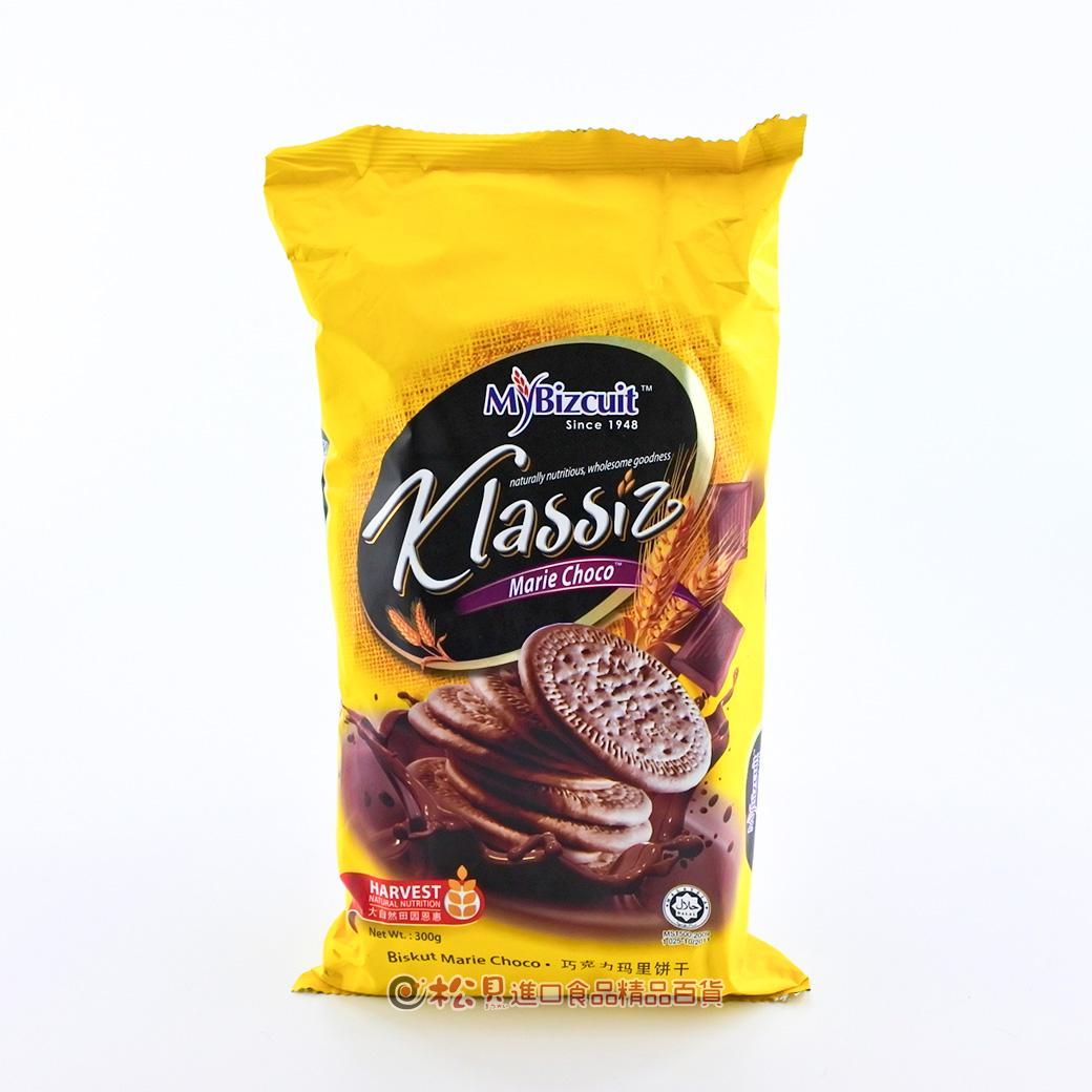 麥比客瑪里牛奶餅(巧克力)300g【9555480004907】