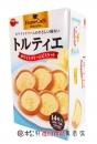 北日本白奶油餡餅112g【4901360327294】