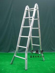 折合鋁梯(二關節)、直馬梯、鋁折梯、折梯Folding Ladder