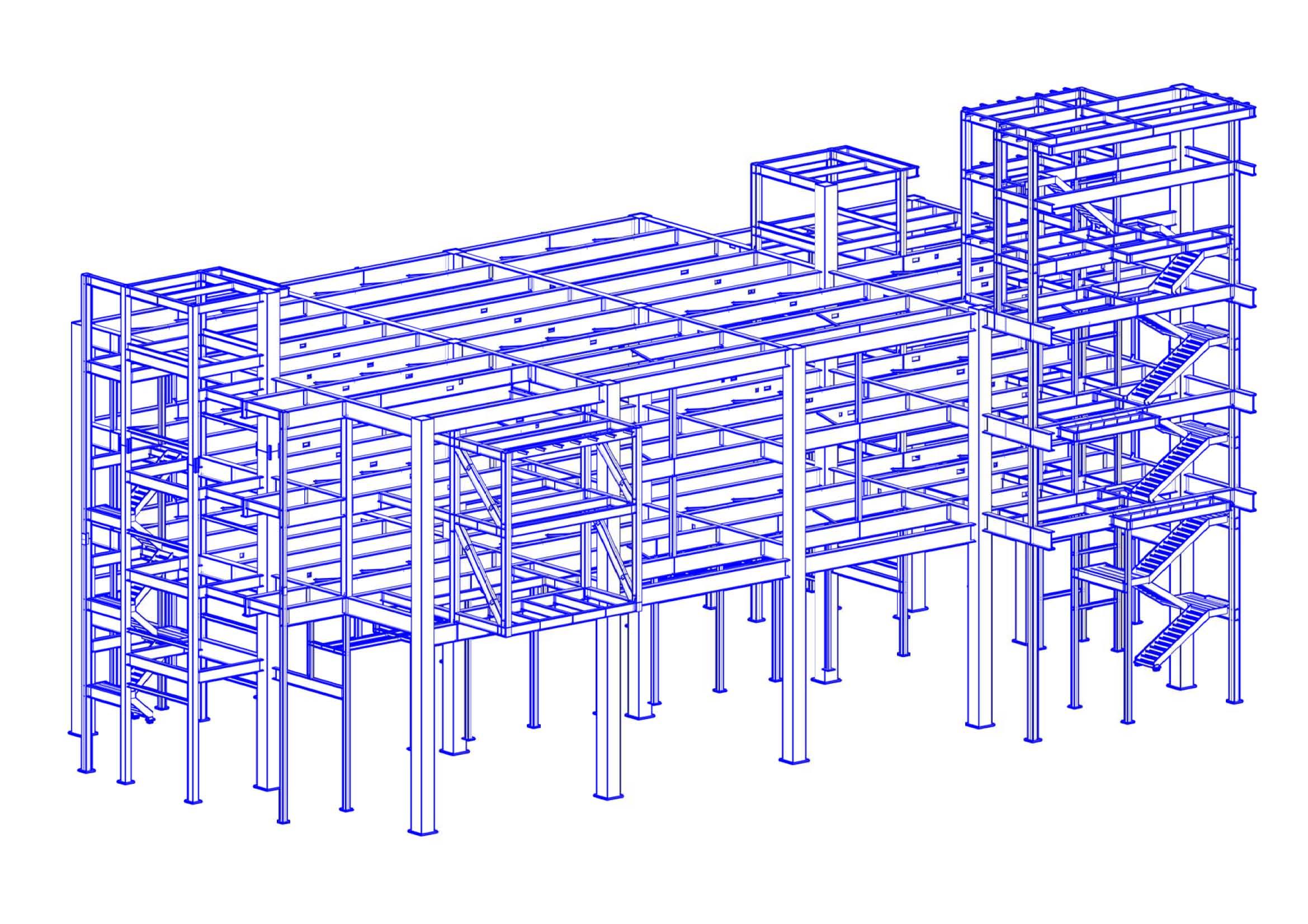 綠湖三重廠房新建工程3D圖